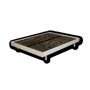 FLY-sommier en kit 160x200 cm blanc