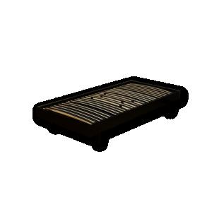 FLY-sommier en kit 90x190 cm laque noir