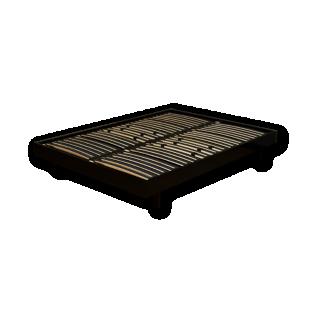 FLY-sommier en kit 140x190 cm laque noir