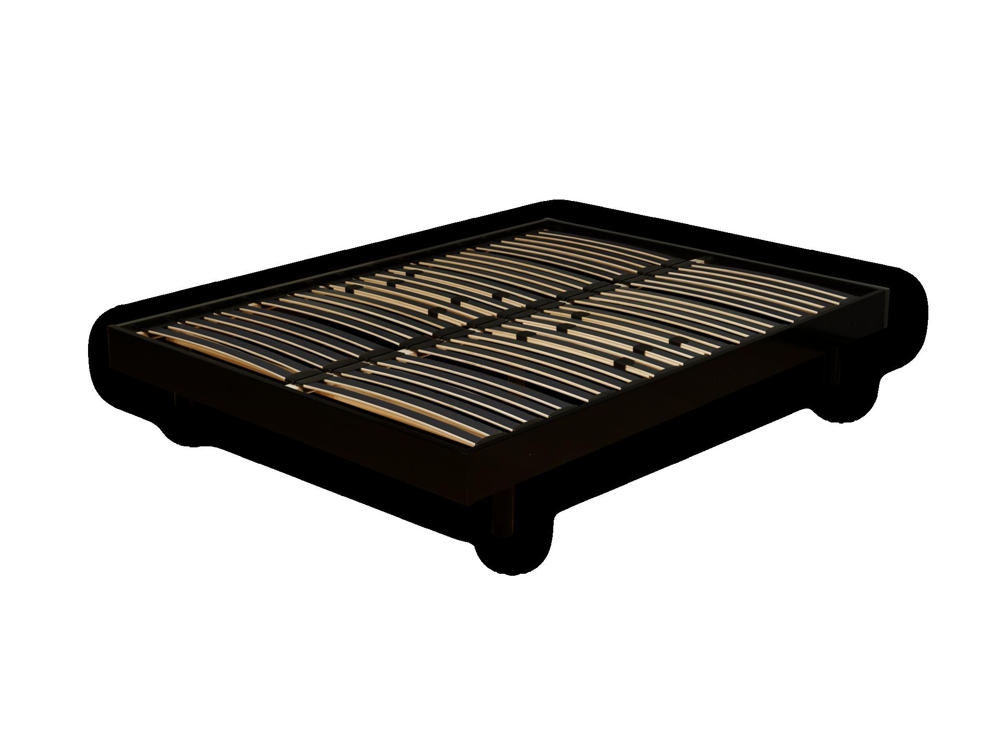 Sommier en kit 160x200 cm laque noir fly - Sommier en kit 140x200 ...