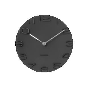 FLY-horloge d44cm noir