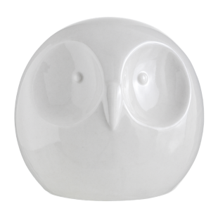 FLY-deco hibou h10.8cm