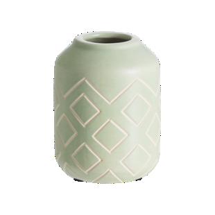 FLY-vase vert h12cm en faience