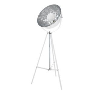 FLY-lampadaire trepied metal h166cm blanc