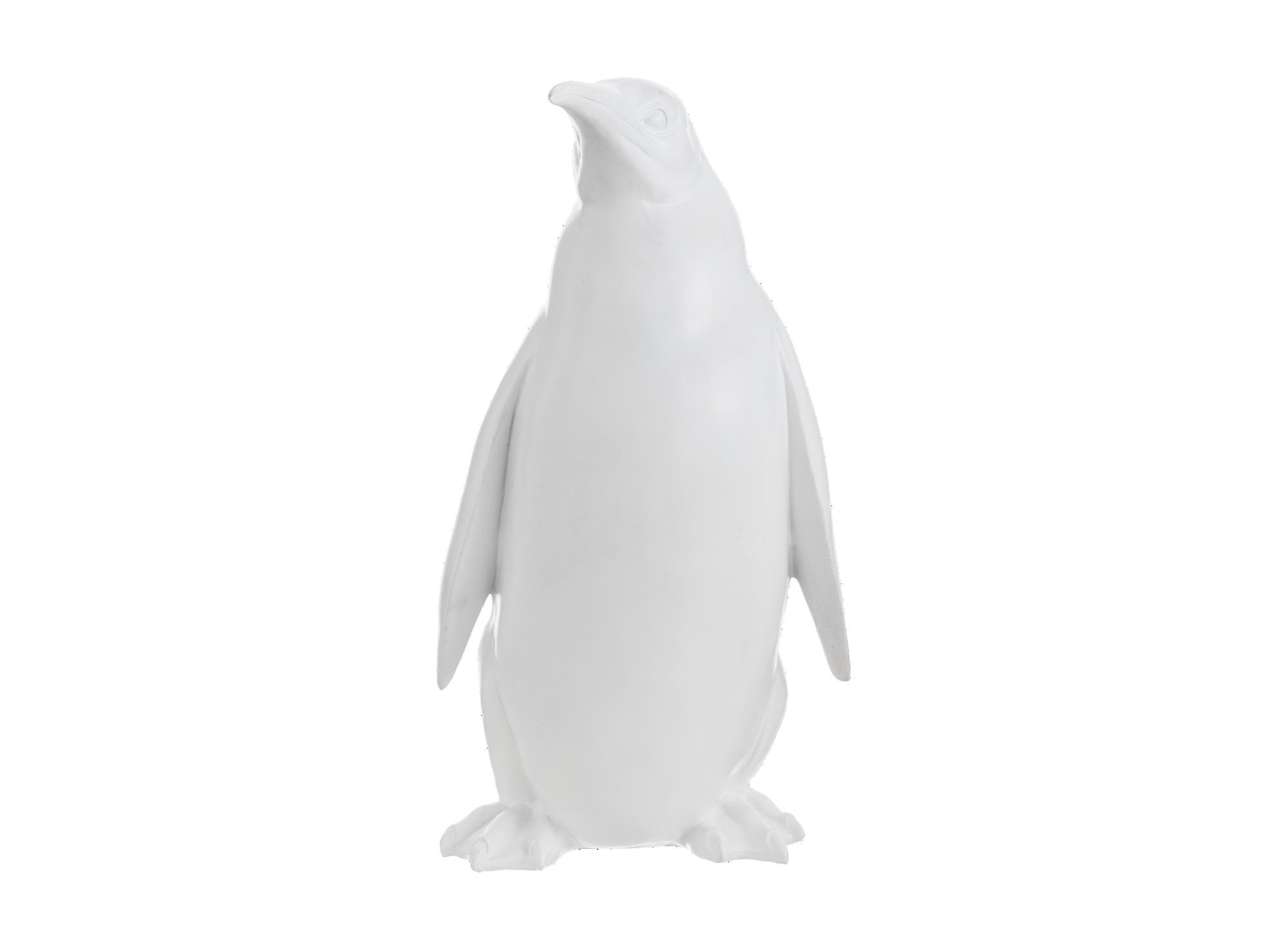 Deco pinguin h31cm coloris bla nc  en resines