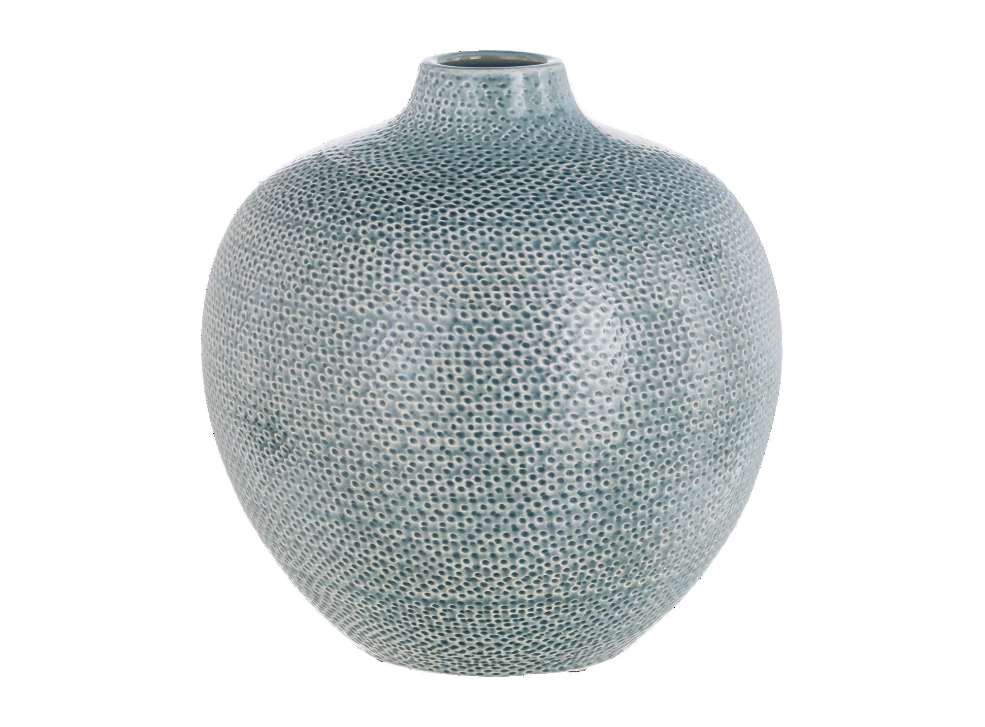 Vase h25cm en ceramique colori s bleu