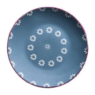 FLY-assiette dessert d21cm bleu