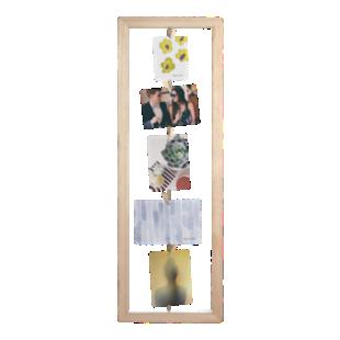 FLY-cadre photo 73x25cm bois