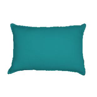 FLY-coussin lin 40x60 bleu canard