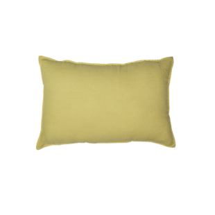 FLY-coussin lin 40x60 moutarde