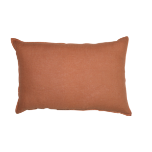 FLY-coussin lin 40x60 brique