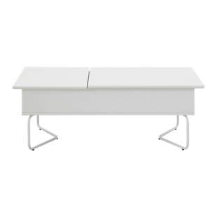 FLY-table basse dinette laque blanc