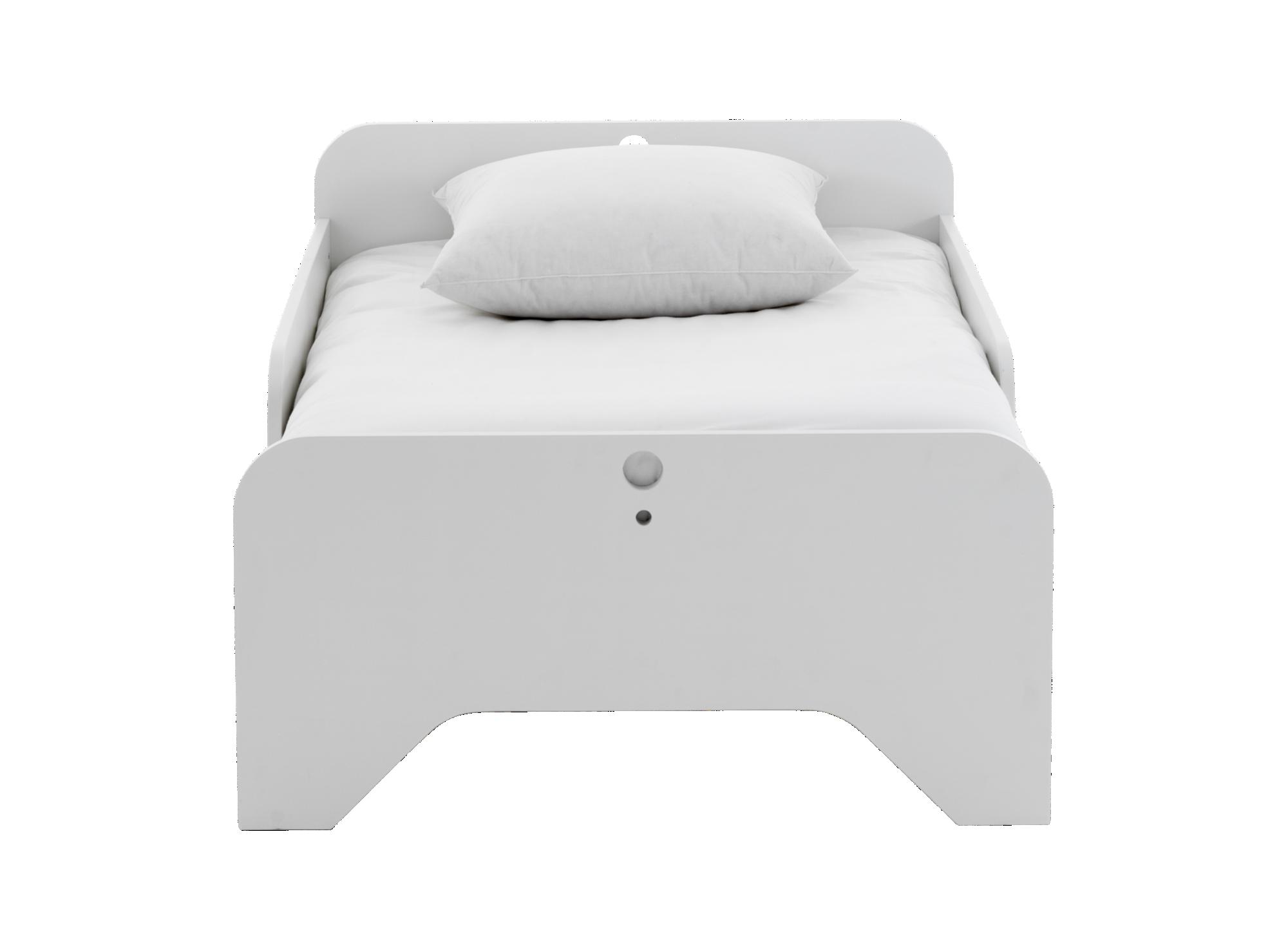 lit evolutif 90x200cm blanc lit enfant lit literie fly. Black Bedroom Furniture Sets. Home Design Ideas