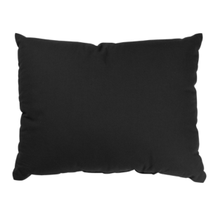 FLY-coussin coton 35x45 noir