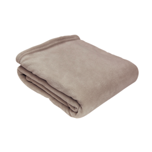 FLY-plaid 130x170 taupe