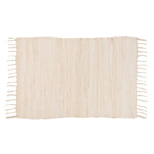 FLY-tapis coton 50x70 ecru