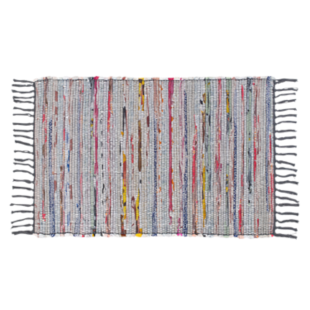 FLY-tapis coton 120x160 gris
