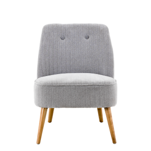 FLY-fauteuil tissu gris