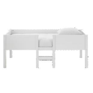 FLY-lit 90x190cm mi-haut laque blanc