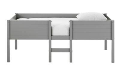 awesome moovelit xcm mihaut laque gris with lit bebe evolutif fly. Black Bedroom Furniture Sets. Home Design Ideas