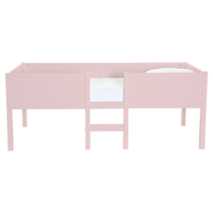 FLY-lit 90x190cm mi-haut laque rose