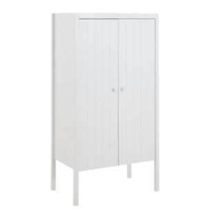 FLY-armoire 2 portes laque blanc