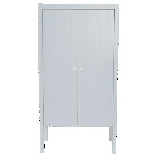 FLY-armoire 2 portes laque gris
