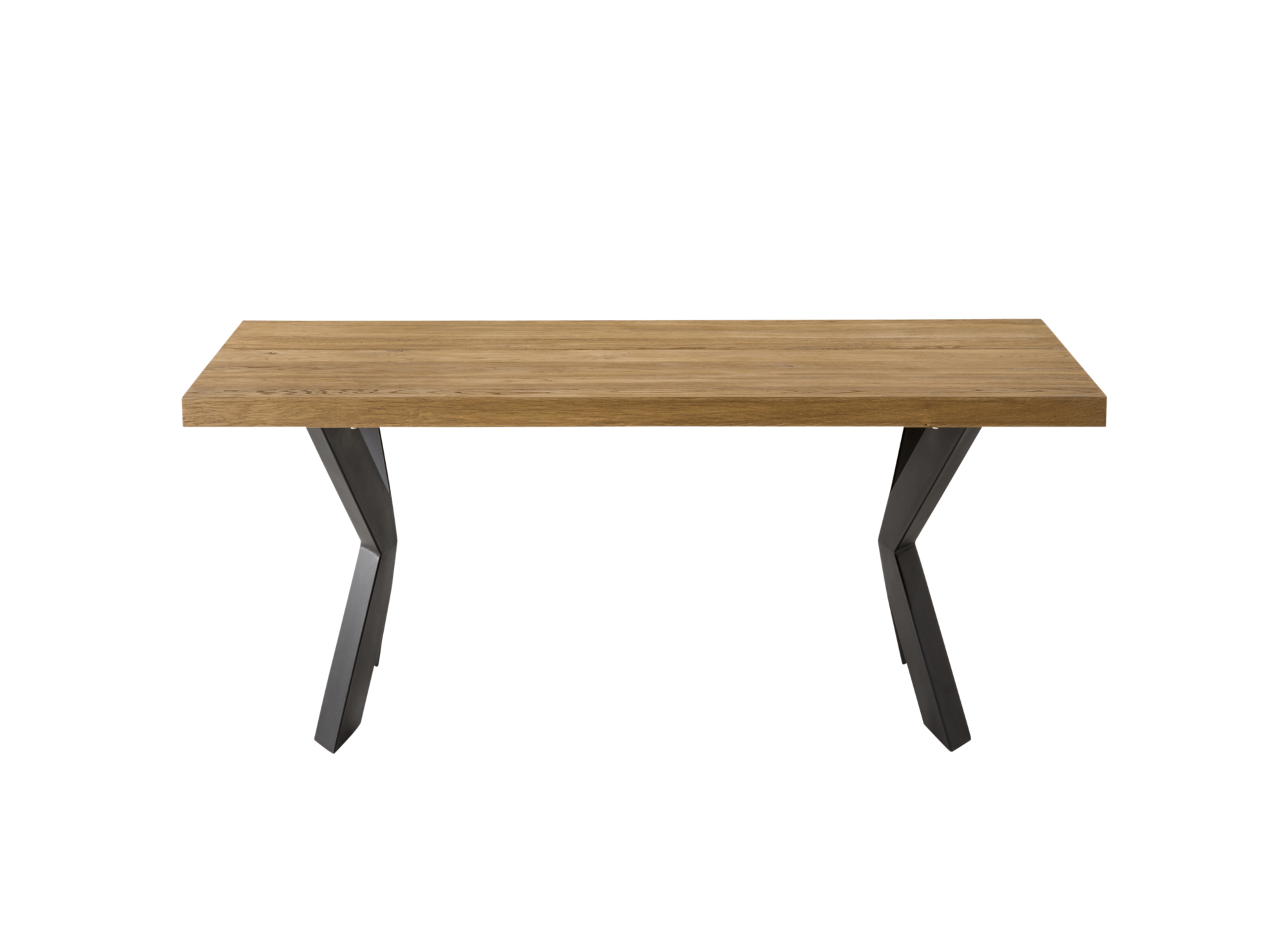 Table rectangulaire: plateau en panneau de fibres de moyenne densite ...