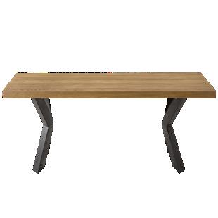 FLY-table plateau bois