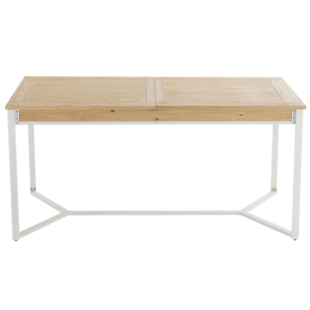 FLY-table chene/blanc