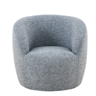 FLY-fauteuil tissu gris anthracite