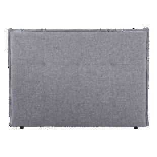 FLY-tete de lit l165 tissu gris chine