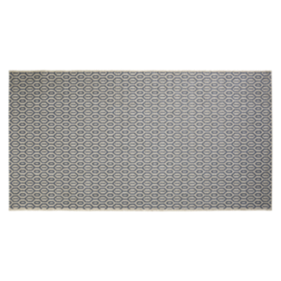 FLY-tapis 80x150 beige/gris fonce