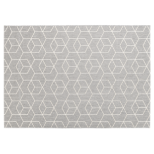 FLY-tapis 160x230 taupe/gris