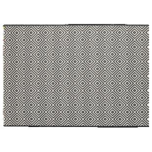 FLY-tapis 160x230 noir/blanc