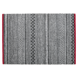 FLY-tapis 160x230 anthracite/gris clair