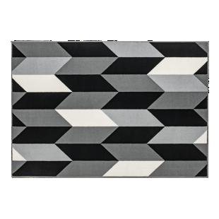 FLY-tapis 120x170 gris/noir