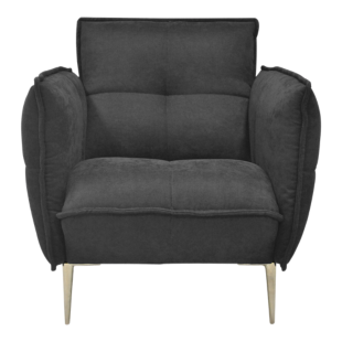 FLY-fauteuil tissu taupe