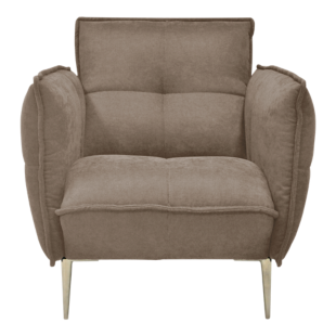 FLY-fauteuil tissu lin