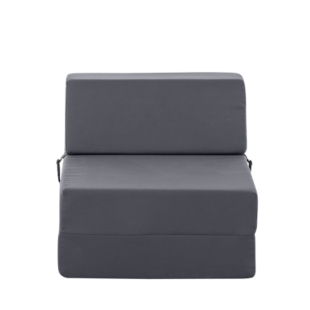 FLY-chauffeuse 1 place tissu gris anthracite