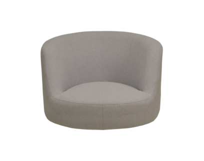 coque fauteuil tissu gris clair | Fly