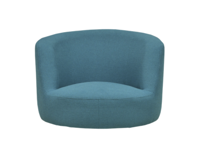coque fauteuil tissu turquoise | Fly