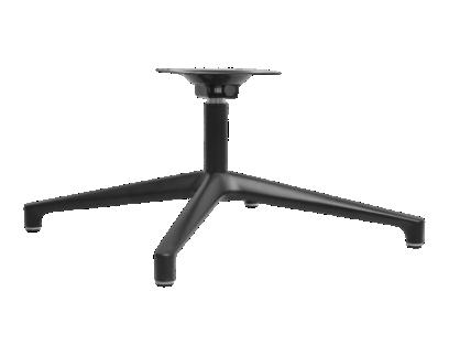 pietement rotatif metal noir | Fly