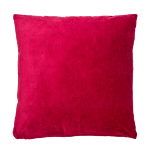 FLY-coussin velours 60x60 rouge