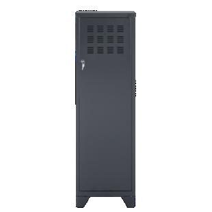 FLY-rangement 1 porte h134 metal noir