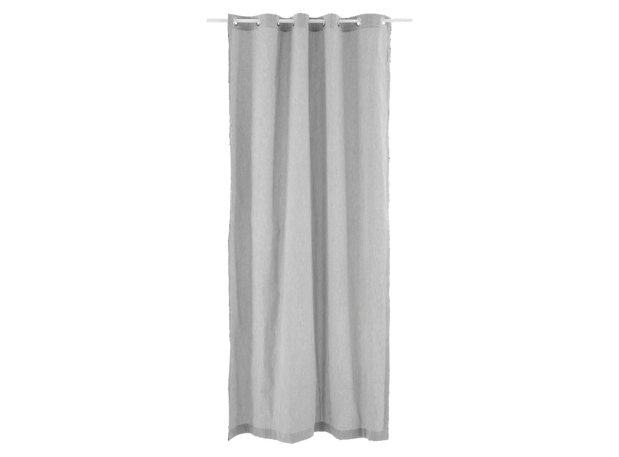 Rideau 140x240 revetu 100% coton garni 100% polyester coloris ivoire/ ...