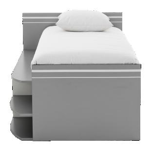 FLY-lit compact blanc et gris