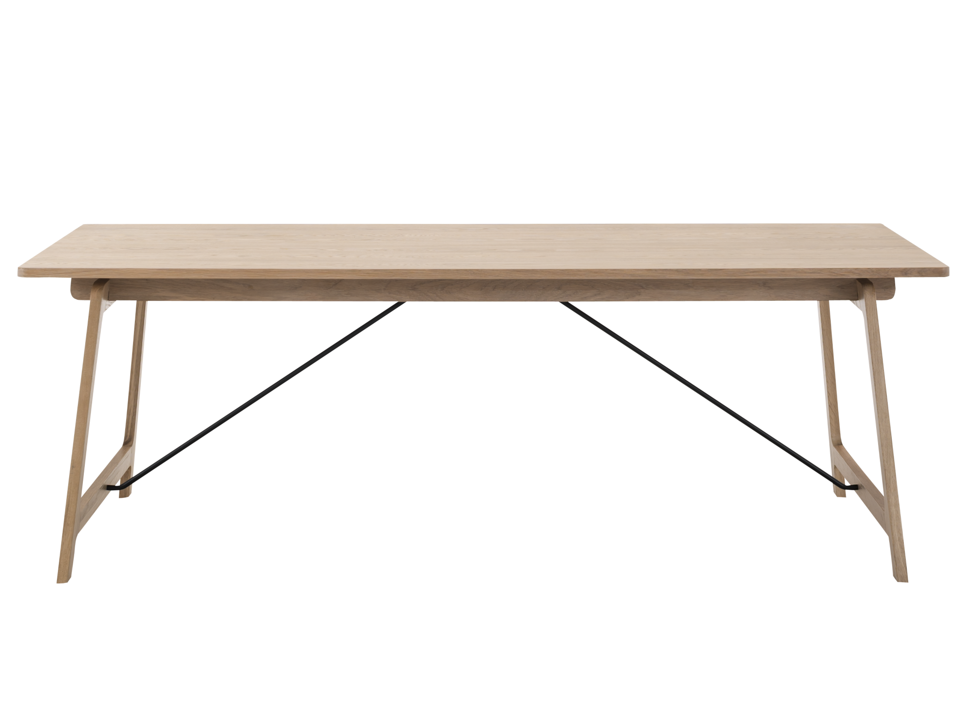 Table rectangulaire chene fly for Miroir rectangulaire fly