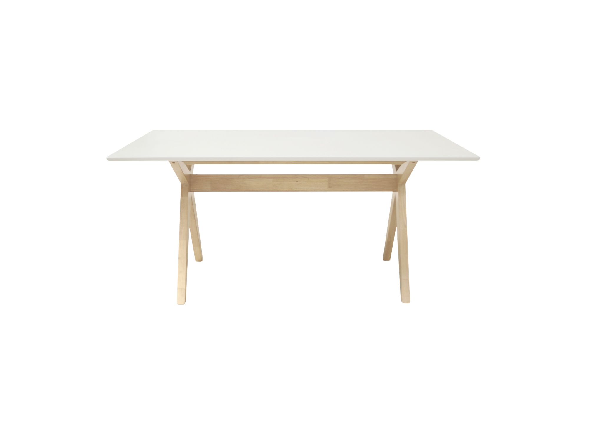 Table rectangulaire chene table table chaise for Miroir rectangulaire fly