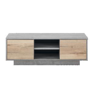 FLY-meuble tv gris/bois